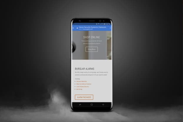 mobile website development tks security