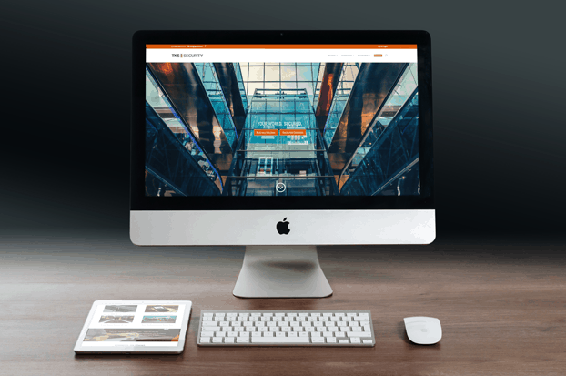 tks security website development