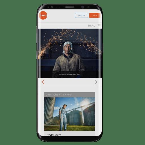 mobile redesigned wordpress theme