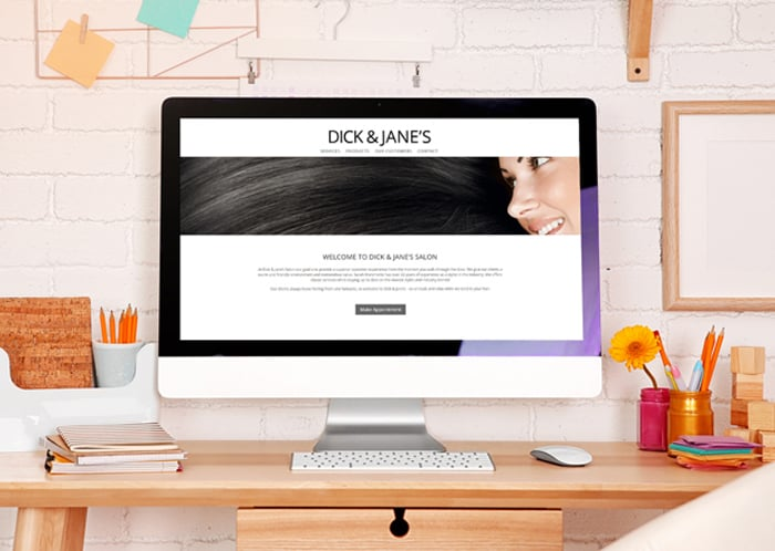 dick and janes local business website