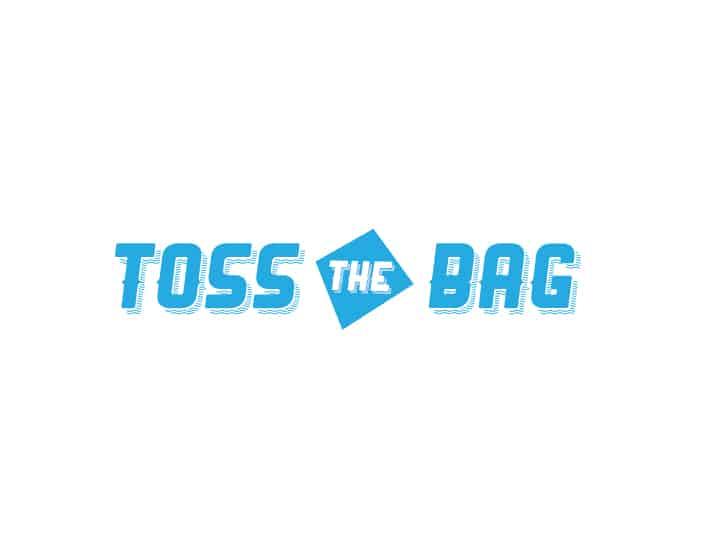 toss the bag logo