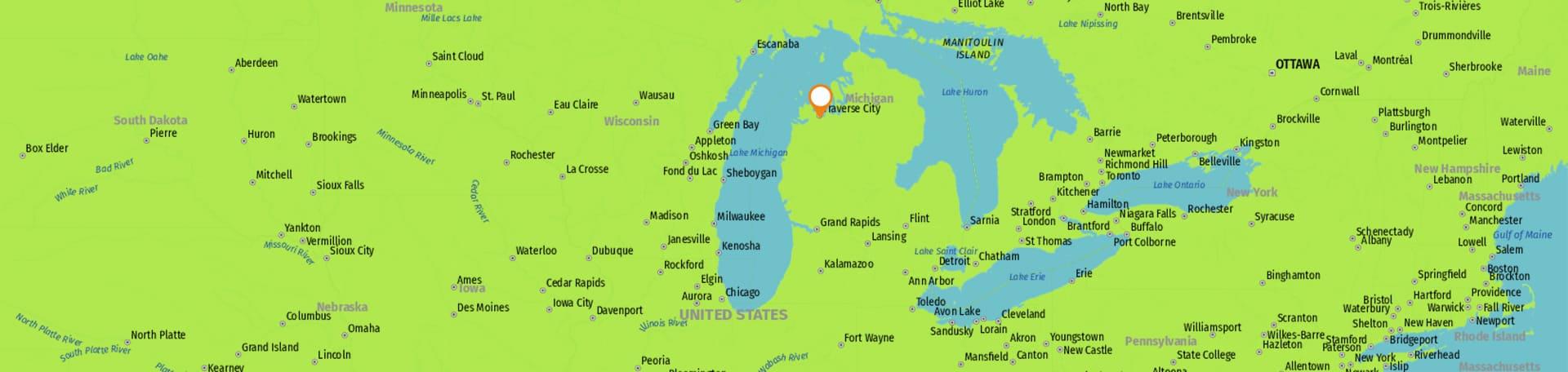 marketing company traverse city map